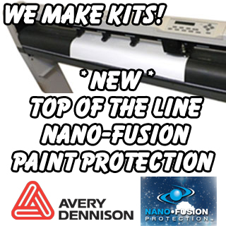 Cut for vw avery nano fusion paint protection film for Avery paint protection film